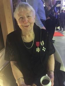 Mamma har fått presidentens medalj för sina insatser