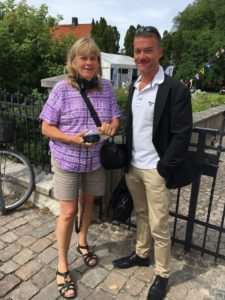 Radio Gotland intervjuar Henrik från Stockholms hamn